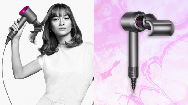 Say Hello to Dyson's Latest Hair-Smoothing Blow-Dryer Attachment