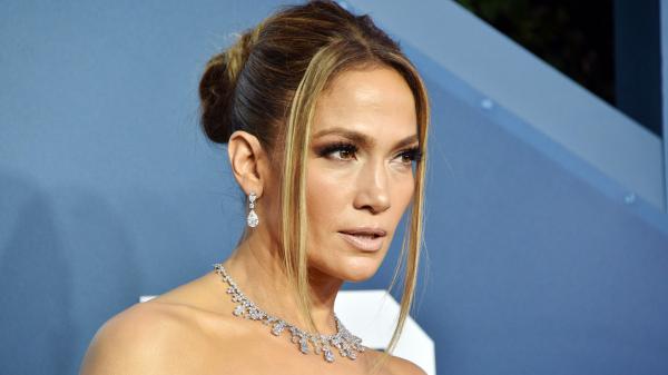 Jennifer Lopez's Intricate Updo Is Dripping in Jewels